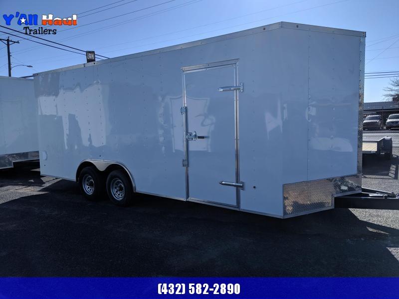 2020 Prime Trailer Manufacturing 8.5x20 Enclosed Cargo Trailer