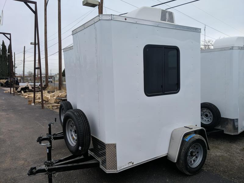 2020 Salvation Trailers 4x6 Guard shack Enclosed Cargo Trailer