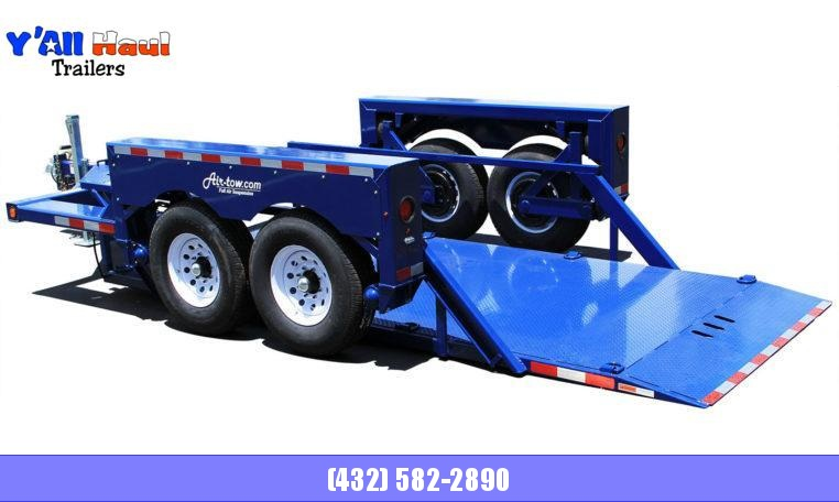 2020 Air Tow T14-10 Tandem Axle Flatbed Flatbed Trailer