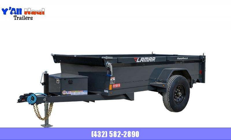 "2021 Lamar Trailers 60"" x 10'  Tandem Axle  Mini Dump Trailer"