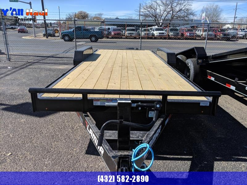 2021 Lamar Trailers 83x20 7k Equipment Trailer