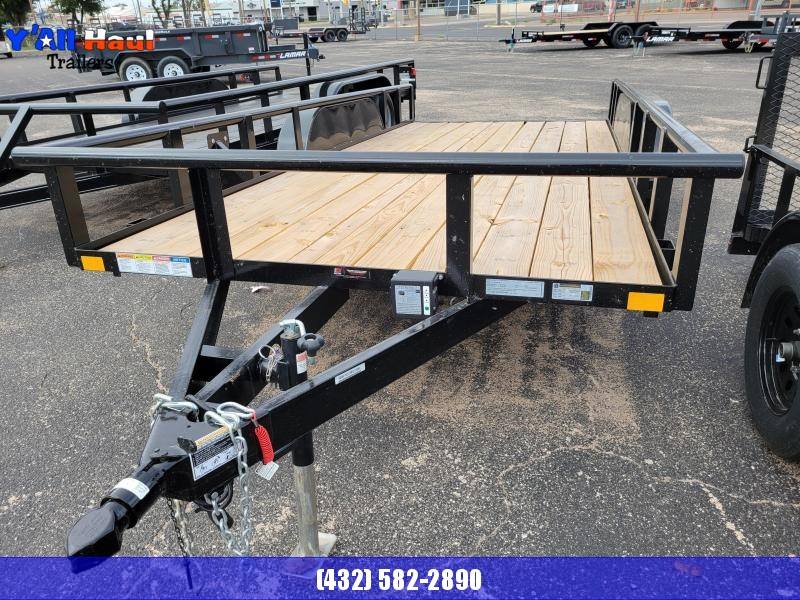2021 BCI Trailers 77x16 Utility Trailer PT, Brakes, Ramps