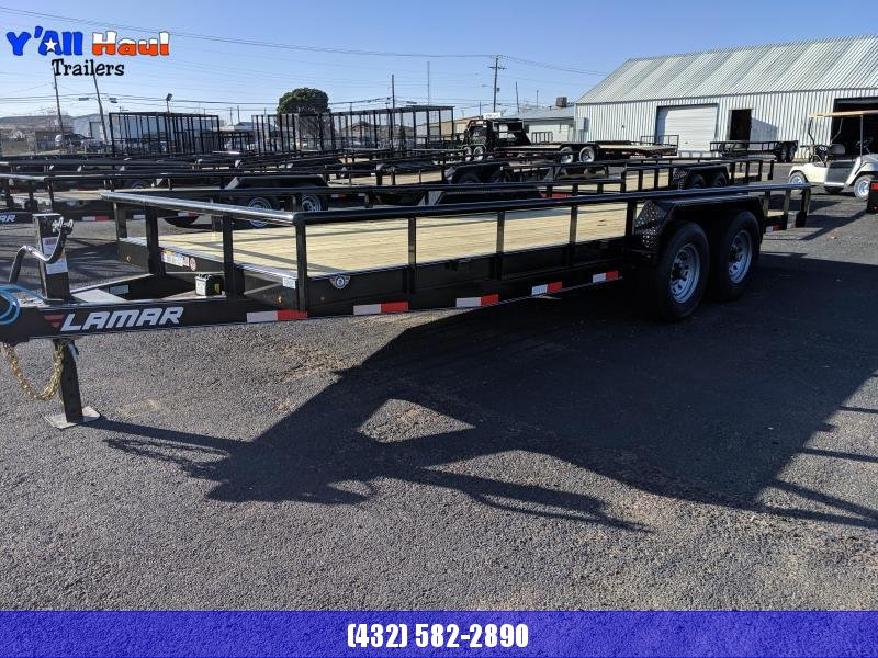 2021 Lamar Trailers 83x20 5.2k Carhauler Car / Racing Trailer