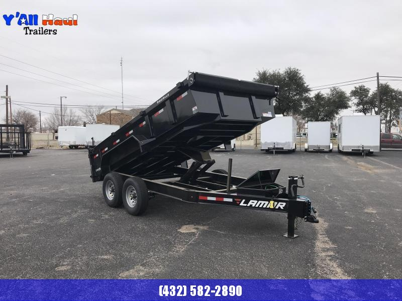 2022 Lamar 83 x 14 7k Dump Trailer gray