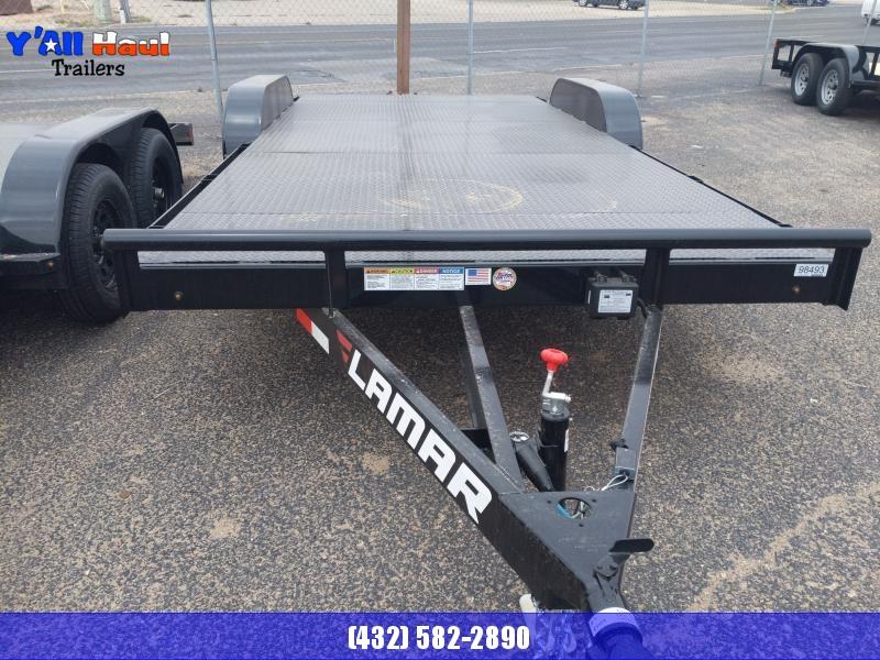 2021 Lamar Trailers 83x18 35.k steel floor carhauler