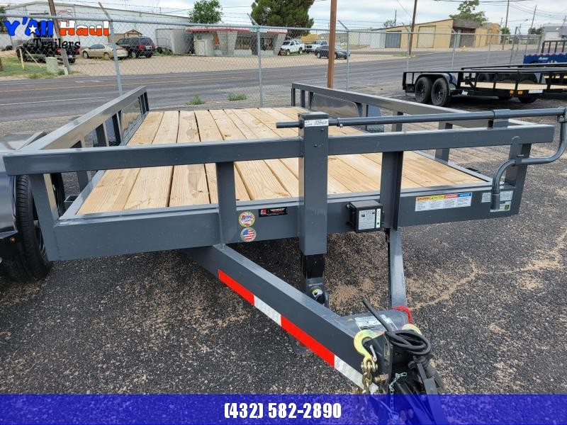 """2021 BCI Trailers 83X18 7K  Utility 3"""" Square tube top"""