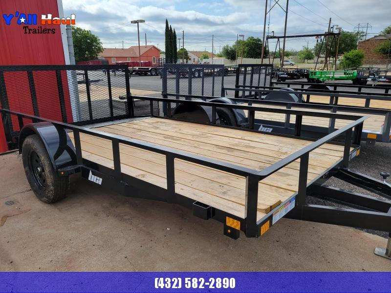 2021 BCI Trailers 77x12 Single dovetail Gate