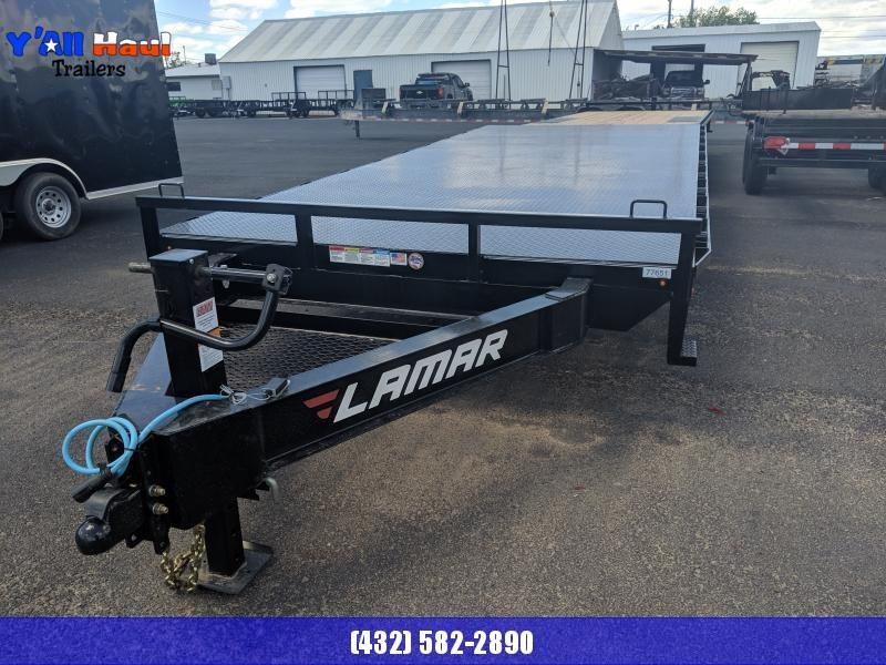 2020 Lamar Trailers 102X20 Deckover Utility Trailer Diamond Floor