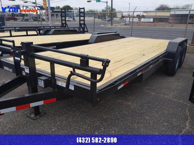 2021 BCI Trailers 83X20 7K  Equipment Trailer