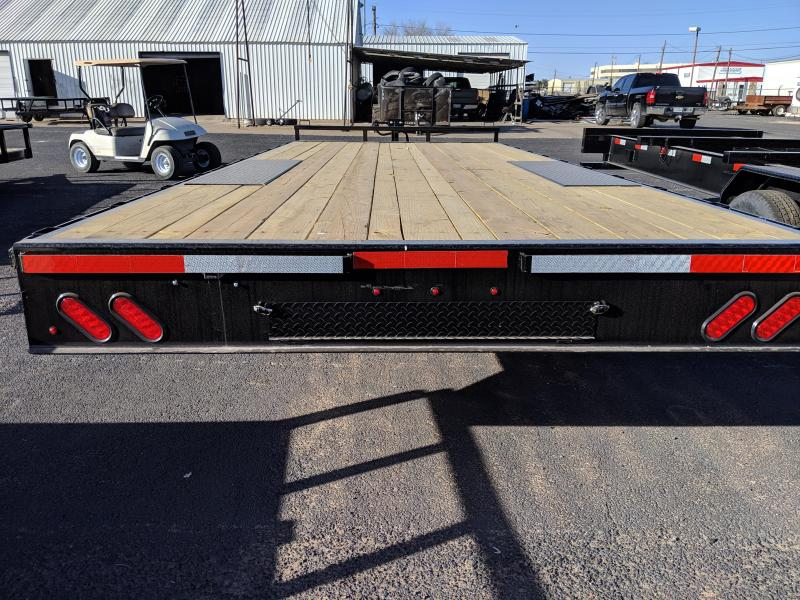 Lamar Trailers 102X20 Deckover Utility Trailer