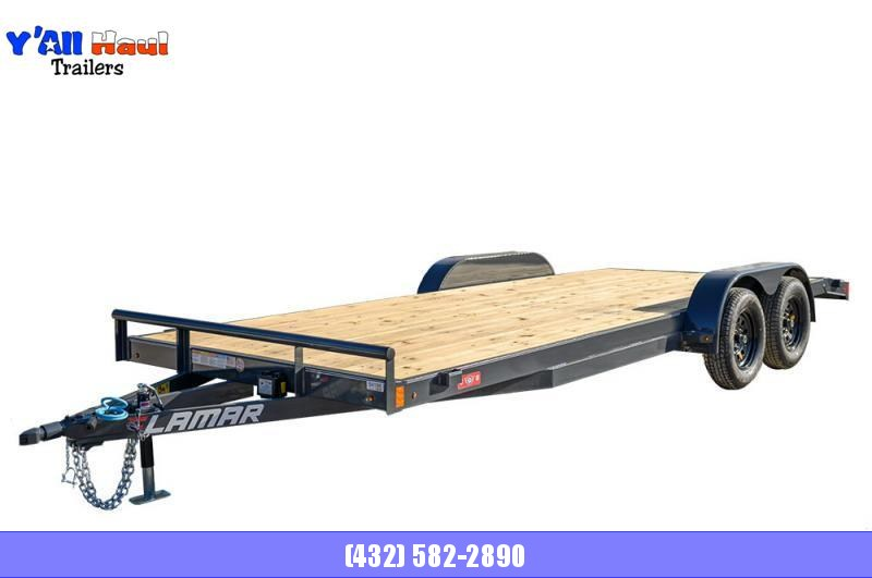 2021 Lamar Trailers 83x18 steel floor car hauler