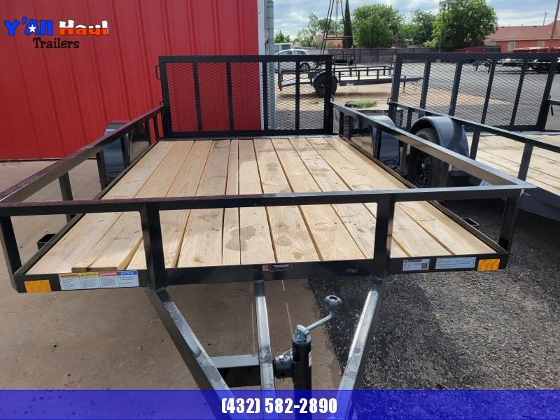 2021 BCI Trailers 77x12 S Dovetail Gate