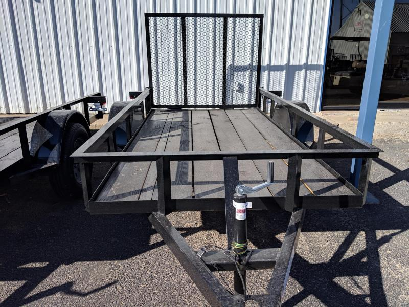 C&M 5x10  Single 4' Gate Utility Trailer