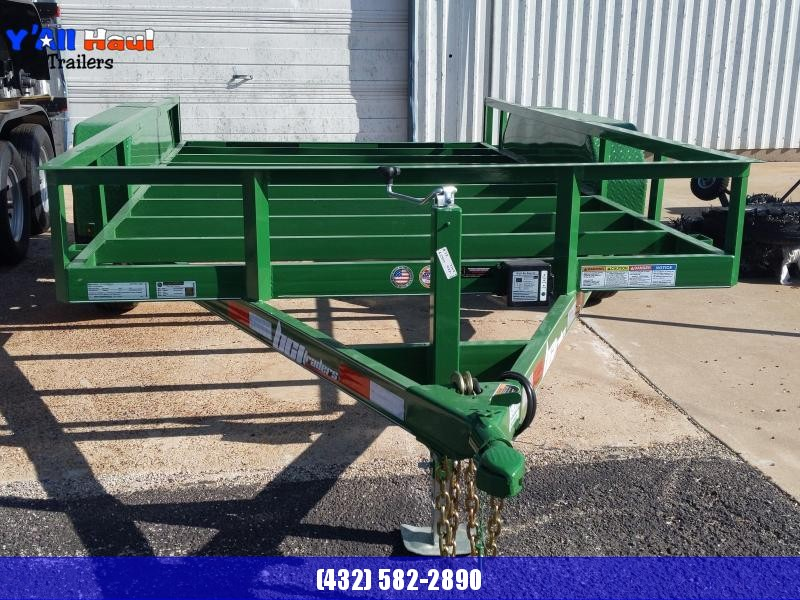 2020 BCI Trailers 77x12 5.2k Green No Floor Utility Trailer