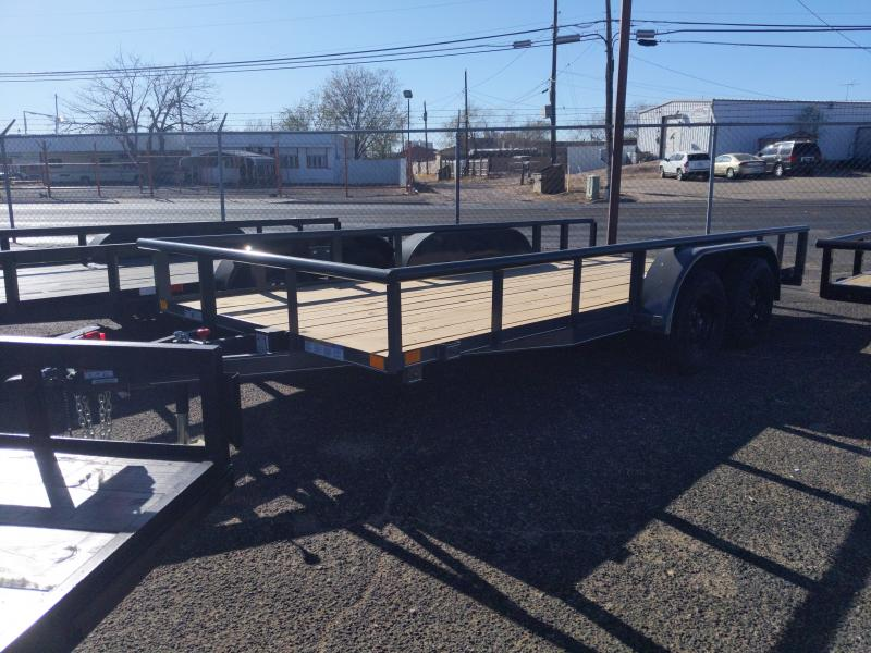 2021 BCI Trailers 83x18  Pipe Top Dovetail gate Brake