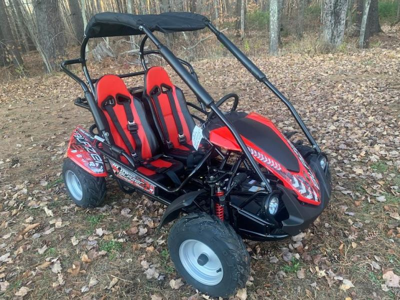 Holiday Special! NEW TrailMaster Blazer 200 31MPH Go Kart age 8-13-Red
