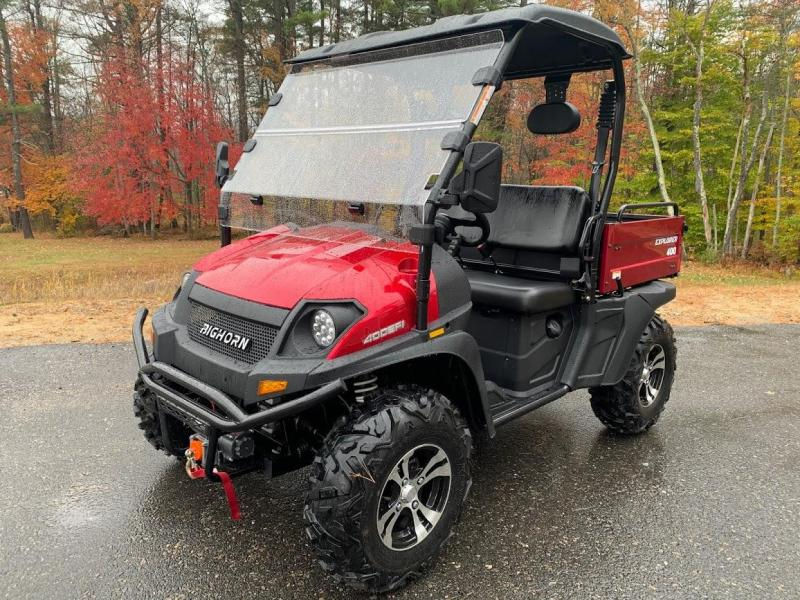 Taurus/Bighorn 450U EFI 4X4 UTV with DUMP BODY 43MPH 26HP RED