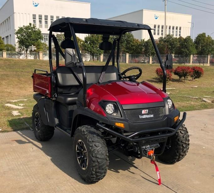 Trailmaster Taurus 450U EFI 4X4 UTV with DUMP BODY 43MPH 26HP RED