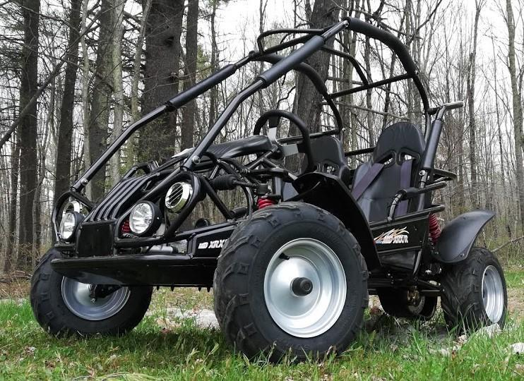 Fall Special! NEW TrailMaster MID-XRX/R Kart ages 6-12 Black