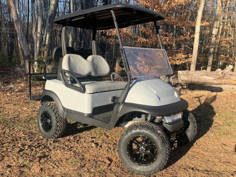 Spring Special! Club Car PLATINUM LIFTED 4 pass 48 volt electric golf cart