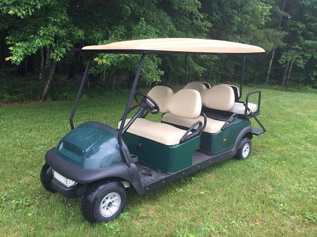 Club Car Precedent 6 Person GAS GOLF CART LIMO