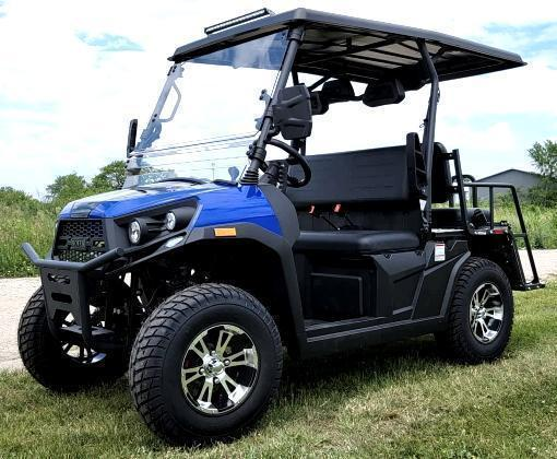 2021 Rover 200 25 MPH Fuel Injected GAS 4 passenger UTV style golf car