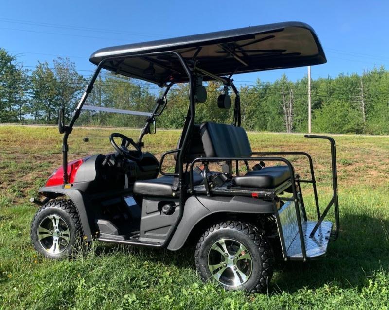 Bighorn 200GX 25 MPH GAS 4 passenger golf car style UTV RED