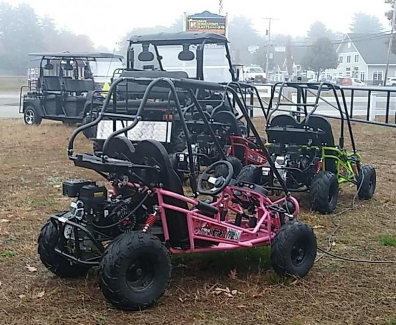Winter Special! TrailMaster Mini XRX+YOUTH Go Kart ages 4-9 Pink