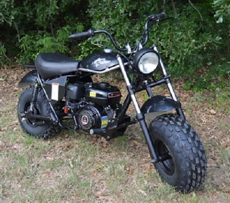 Winter Special! New TrailMaster MB200 Mini Bike great for trail rides-BLACK