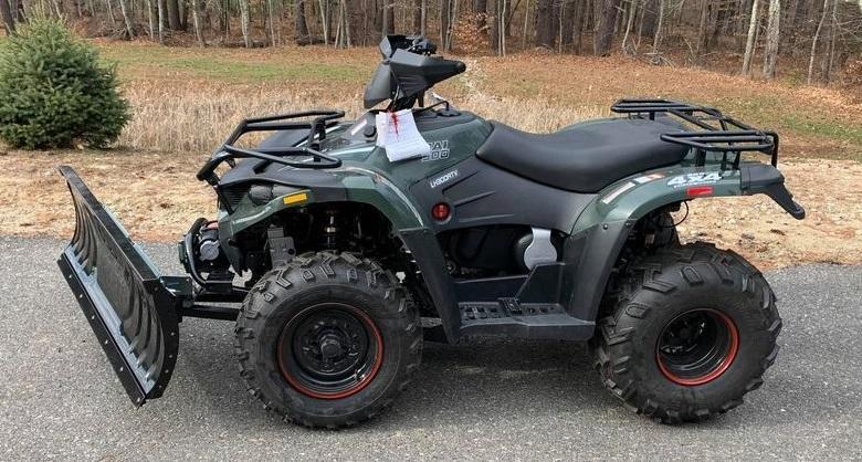 Bighorn 300 4x4 ATV Shaft Drive 22HP WITH PLOW Linhai Quality