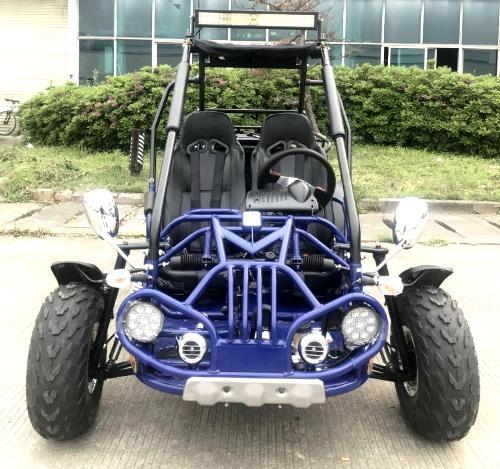 NEW Trailmaster 200E XRX Fuel Injected 43 MPH Go Kart Teen-Adult BLUE