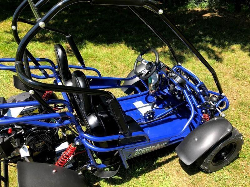 2021 Hammerhead MudHead 208R Youth Go Kart-BLUE