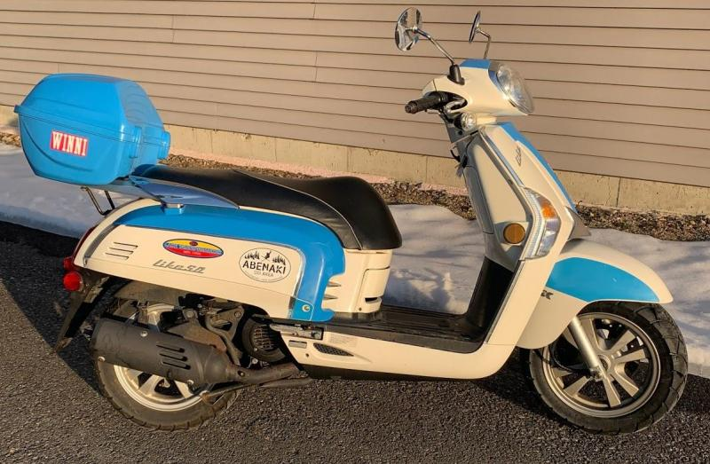 2014 KYMCO LIKE 50 Scooter-1627 miles in stock and ready to go!