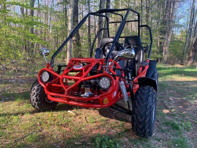 Fall Special! TrailMaster 200 XRS Teen-Adult Go Kart 43 MPH!!! Red