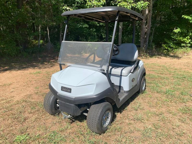 2019 Club Car TEMPO FUEL INJECTED GAS Golf Cart LIGHT GRAY VERY NICE!!