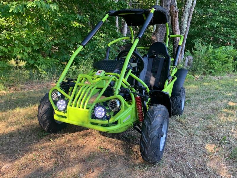 Fall Special! NEW TrailMaster MID-XRX/R Kart ages 6-12 Green