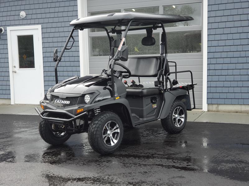 Eagle 200GX 25 MPH Fuel Injected GAS 4 pass golf car style UTV-Black