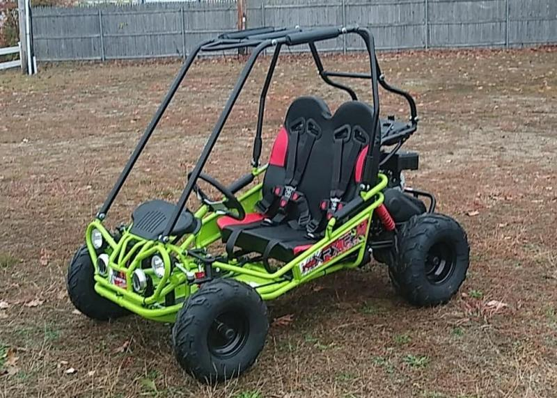 Trailmaster Mini XRX/R+ Go Kart Youth size ages 4-9 12 MPH