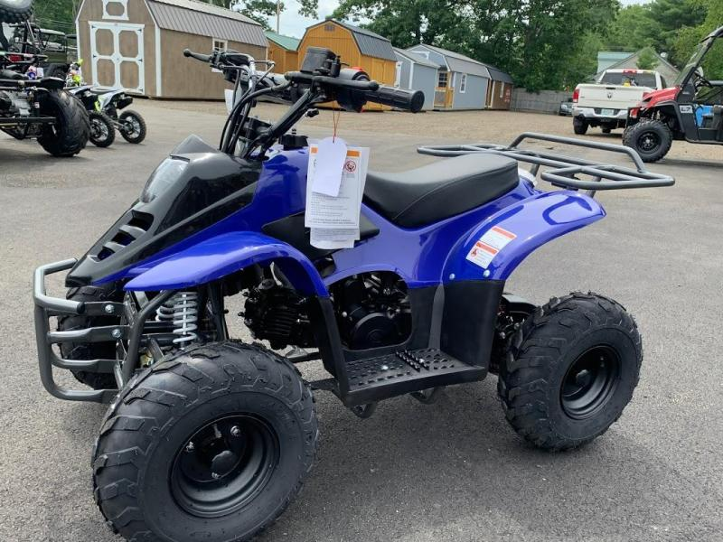 """TrailMaster Coolster MINI 110CC SPORT w/6"""" Wheels Kids ATV-Blue"""