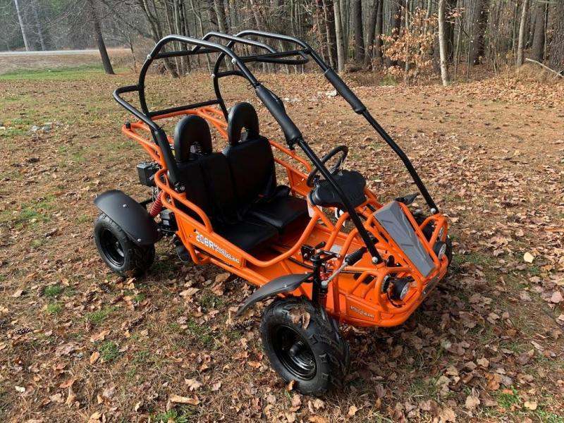 Spring Special! NEW Hammerhead MudHead 208R Go Kart ages 8-13-Orange