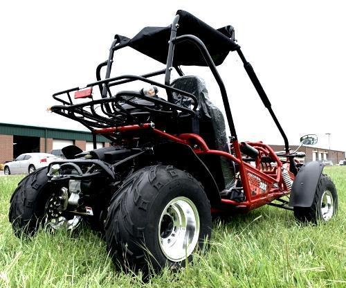 NEW Trailmaster 200 XRX 43 MPH Go Kart Teen-Adult Red
