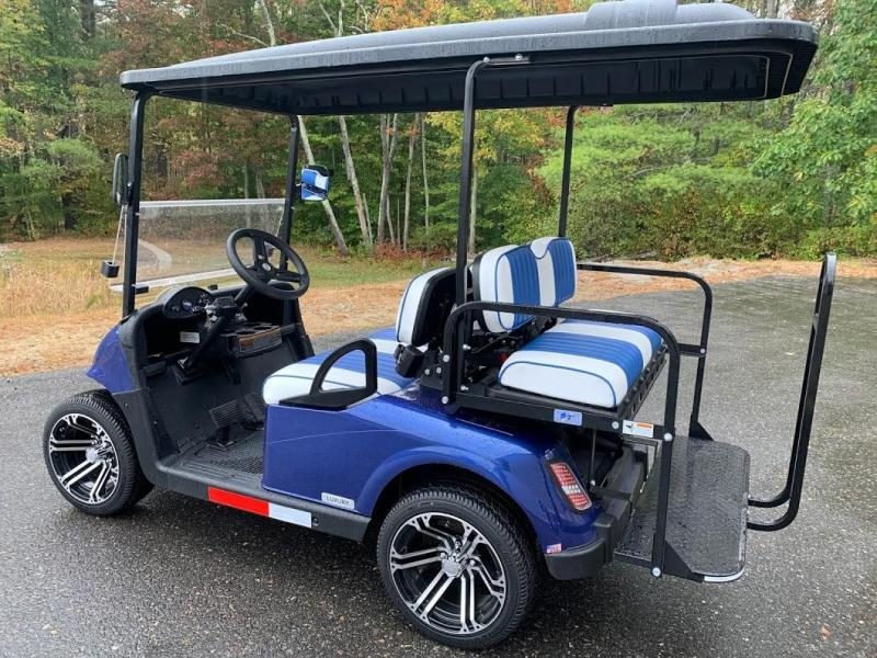 WINTER CLEARANCE! 2021 MidSouth EZGO RXV LSV 25MPH Street Legal golf car Pearl Blue