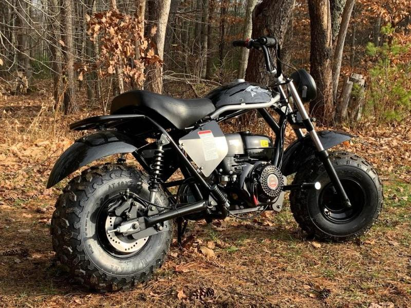 Summer special! New TrailMaster MB200 Mini Bike great for trail rides-BLACK