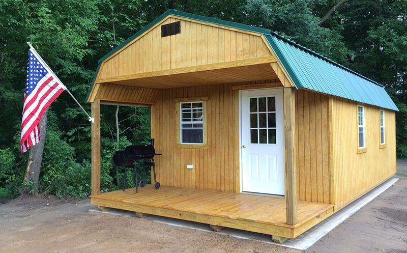 Brand NEW Old Hickory Playhouse Lofted Utility Barn 8' x 10'