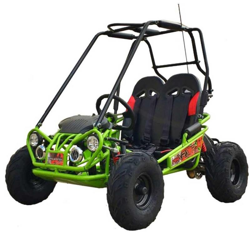 Trailmaster Mini XRX+ Go Kart Youth size ages 5-9 GREEN12 MPH