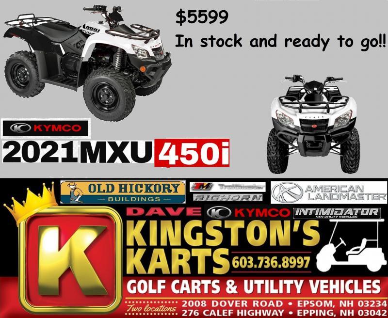 KYMCO MXU Midsize 450i Fuel Injected Fully Automatic 4x4 Utility ATV