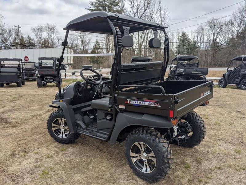 Taurus 200U-E DX 2WD EFI UTV with DUMP BODY 25MPH  Carbon Fiber