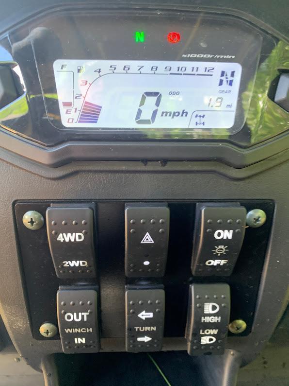 Taurus/Bighorn 450U EFI 4X4 UTV with DUMP BODY 43MPH 26HP CAMO