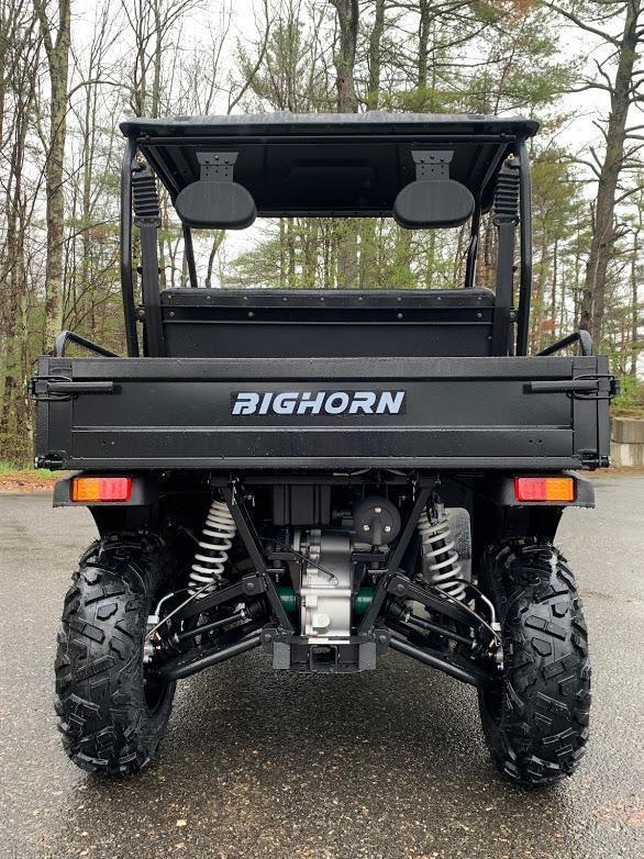 Bighorn 200U-E DX 2WD EFI UTV with DUMP BODY 25MPH Green