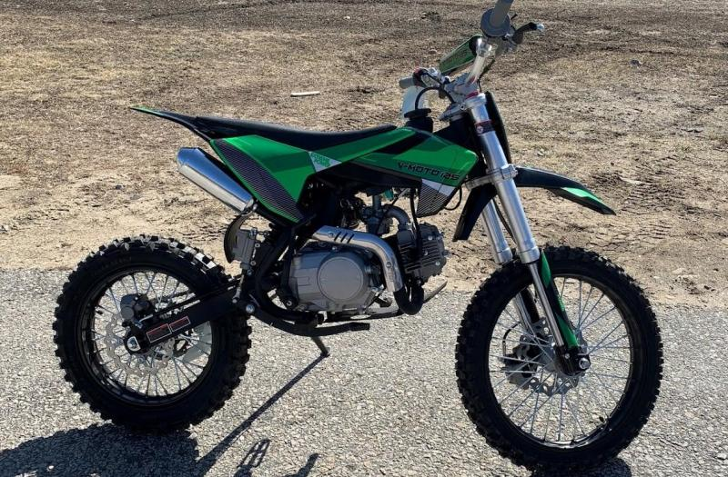Fall Special! New K3-125 High Performance Mid Size Dirt/Pit Bike-GREEN